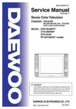 Buy Daewoo DTD-29U9 Service Manual by download Mauritron #331735