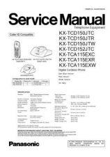 Buy Panasonic KX-TCD150ARB------- Manual by download Mauritron #299927