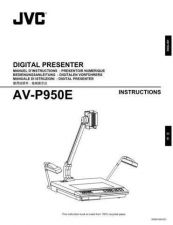 Buy JVC AV-P950E-[2] Service Manual by download Mauritron #281326