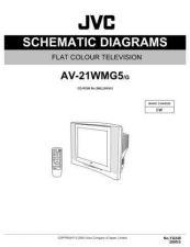 Buy JVC AV-21W83-3 Service Manual by download Mauritron #279675