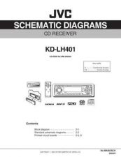Buy JVC KD-LH401-12 Service Manual by download Mauritron #282048