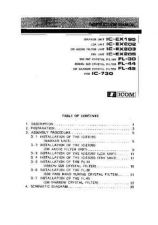 Buy Icom IC-730 Instruction manual by download Mauritron #329471
