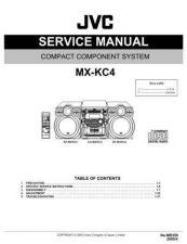 Buy JVC MX-KC4 Service Manual by download Mauritron #282988