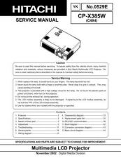 Buy Hitachi CP-S318_x328 Service Manual by download Mauritron #289145