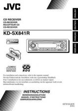 Buy JVC KD-SX841R-13 Service Manual by download Mauritron #282329