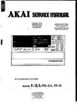 Buy AKAI. FD3L. AUDIO. SERVICE MANUAL. by download Mauritron #331702