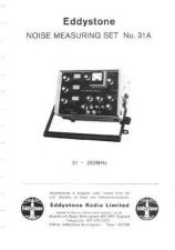 Buy Eddystone 31A Service Manual by download Mauritron #316501