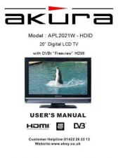 Buy Akura APL2021W-HDID-IB Service Manual by download Mauritron #330282