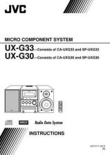 Buy JVC UX-G3-19 Service Manual by download Mauritron #284205