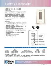 Buy Honeywell Marley Th110specs by download Mauritron #317872
