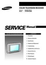 Buy Samsung CFT24907 Service Manual by download Mauritron #322559