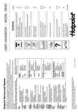 Buy Hotpoint WM42 Laundry Operating Guide by download Mauritron #314160