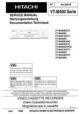 Buy Hitachi VT7500A1 Service Manual by download Mauritron #285644