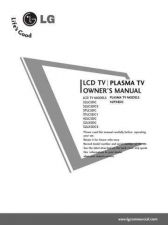 Buy LG 37LC5DC1 Flat Screen TV Operating Guide by download Mauritron #329582
