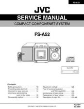 Buy JVC FS-A52 Service Manual by download Mauritron #281369