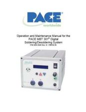 Buy Pace MBT 301 Manual EN by download Mauritron #314258