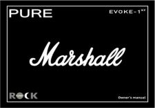 Buy Pure Evoke 1xt Marshall User Guide by download Mauritron #320253