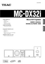 Buy Teac MCDX220iDABEB Operating Guide by download Mauritron #318917