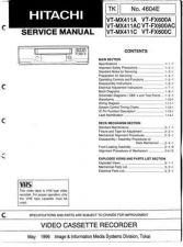 Buy Hitachi VTFX6500A-AC-MX4530A Service Manual by download Mauritron #285781
