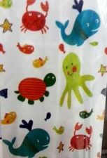 Buy CUTE KIDS MODERN SHOWER BATH CURTAIN WATERPROOF FABRIC 180*80 CM FREE SHIPPING