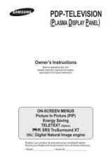 Buy Samsung PS-42C7XET Service Manual by download Mauritron #322803