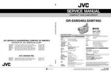 Buy JVC GR-SXM740 schem Service Manual by download Mauritron #280905