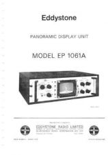 Buy Eddystone 1061A Service Manual by download Mauritron #316490