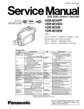 Buy Panasonic VDR-M30B by download Mauritron #302652