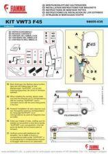Buy Volkswagen FiammaAwningBracketInstallationInstructions by download #333731