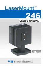 Buy Arroyo246TO-3LaserMountUsersManual by download Mauritron #329181