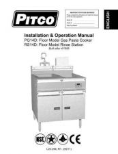 Buy Pitco L20-294 Instructions by download #333661
