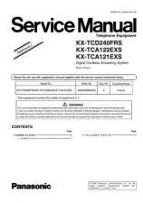 Buy Panasonic KX-TCA121FXT Manual by download Mauritron #299701