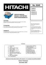 Buy Hitachi L32A01A Service Manual by download Mauritron #290451