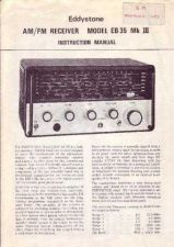 Buy Eddystone AM-FM Receiver Model EB35 MkIII Instruction Manual by download Mauritron #3