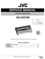 Buy JVC KS-AX5700J Service Manual by download Mauritron #282374