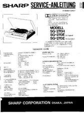 Buy JVC SG270H-E_SM_DE(1) Service Manual by download Mauritron #278174