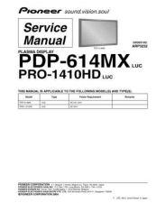 Buy Panasonic PDP-6100HD-KUC[2] Manual by download Mauritron #301187