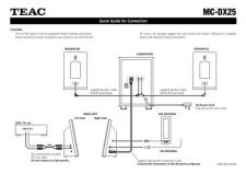 Buy Teac MCDX40 QuickGuide6LB Operating Guide by download Mauritron #318989