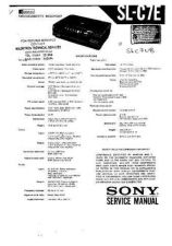 Buy Sony SL-V715UB Operating Guide by download Mauritron #325469
