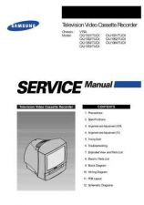 Buy Samsung CXJ1352 Service Manual by download Mauritron #332802