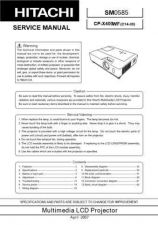 Buy Hitachi CP-S318-2 Service Manual by download Mauritron #289147
