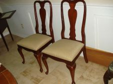 Buy ETHAN ALLEN QUEEN ANNE DINING CHAIR CHERRY GEORGIAN COURT Side Chair ONE CHAIR