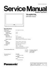 Buy Sharp TH-42PV70L Manual by download Mauritron #298606