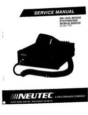 Buy Neutec SM1645 Mobile Radio Service Manual by download Mauritron #320197