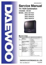 Buy Daewoo DVQ-13H1FCN Service Manual by download Mauritron #331743