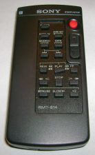 Buy SONY RMT 814 REMOTE CONTROL camcorder camera AV500 CCD TRV65 DCR TRV230 TRV140