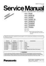 Buy Panasonic KX-P5710 Manual by download Mauritron #299556