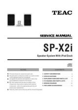 Buy Teac SP-X2i Service Manual by download Mauritron #319539