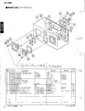 Buy Yamaha NS40M Parts List by download Mauritron #337774