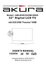 Buy Akura ABLDVD3230W-HDID Manual Service Manual by download Mauritron #330270